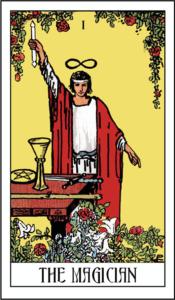 Træk dagens tarotkort på horoskopnettet - The Magician - Magikeren