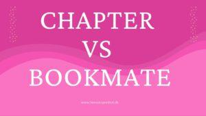 chapter vs bookmate - Telmore og YouSee kunder mister Bookmate og siger velkommen til Chapter